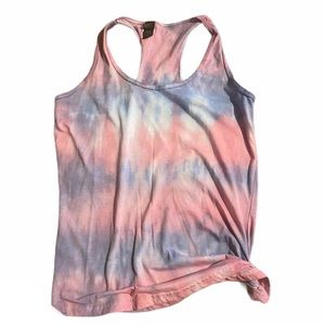 Tie dyed Anvil tank t-shirt medium